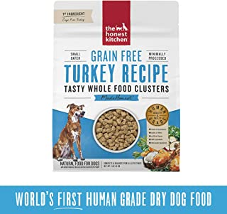The Honest Kitchen Grain Free Whole Food Clusters Dog Food – Cage Free Turkey 20 lb