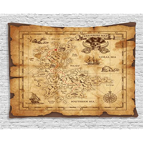 Pirate Treasure Map: Amazon.com on authentic treasure chests, bahamas 1500s maps, decorating with maps, authentic games, authentic diamonds, civil war camp location maps, printable pirate maps,