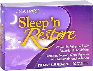 Natrol, Sleep N Restore, 20 Tablets