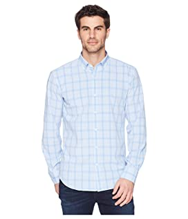 Shaped Fit Performance Plaid Woven Shirt