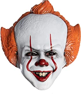 IT Movie Chapter 2 Adult Pennywise Vacuform Mask Adult Costume