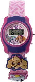 Nickelodeon Girl's Paw Patrol Automatic Plastic and Polyurethane Casual Watch Multi Color (Model: PAWKD16021)