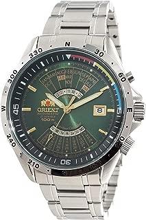 Orient Sports Automatic Multi-Year Calendar Green Dial Watch EU03002F