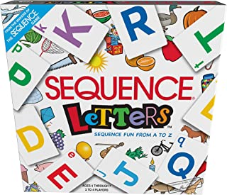 Sequence 6 Of Sequence Letters Fun from A To Z, Multi-Colour, 8011