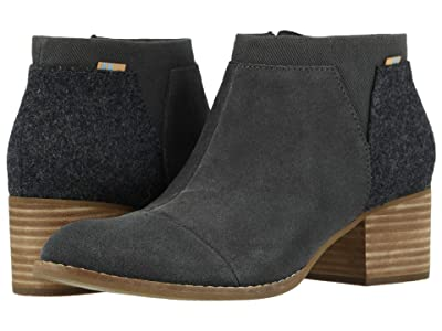 TOMS Loren (Forged Iron Grey Suede/Felt) Women