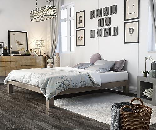 In Style Furnishings Stella Modern Metal Platform Bed Frame