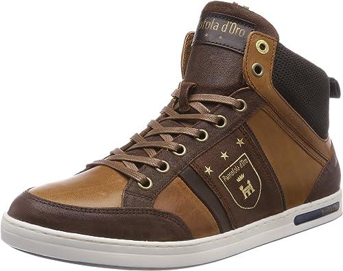Pantofola d'oro Mondovi hombres Mid, Hauszapatos Altas para Hombre