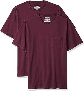 Men's 2-Pack Regular-Fit Short-Sleeve Crewneck Pocket T-Shirt