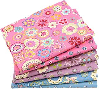 iNee Fat Quarters Quilting Fabric Bundles 18x22 inches, Sewing Quilting Fabric, (Sun Flower)