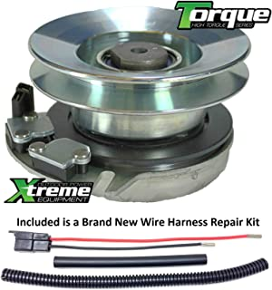 Xtreme Outdoor Power Equipment Bundle - 2 Items: PTO Electric Blade Clutch, Wire Harness Repair Kit. X0013 Replaces Cub Cadet PTO Clutch 717-04163, 717-04163A, 917-04163, 917-04163A