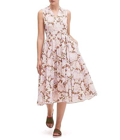 Kate Spade New York Exotic Bloom Burnout Dress (Hot Cider) Women