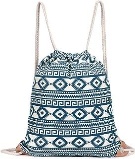 Drawstring Gym Sport Bag, Large lightweight Gym Sackpack backpack for Men and Women