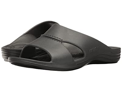 Aetrex Lynco Slide (Charcoal) Men