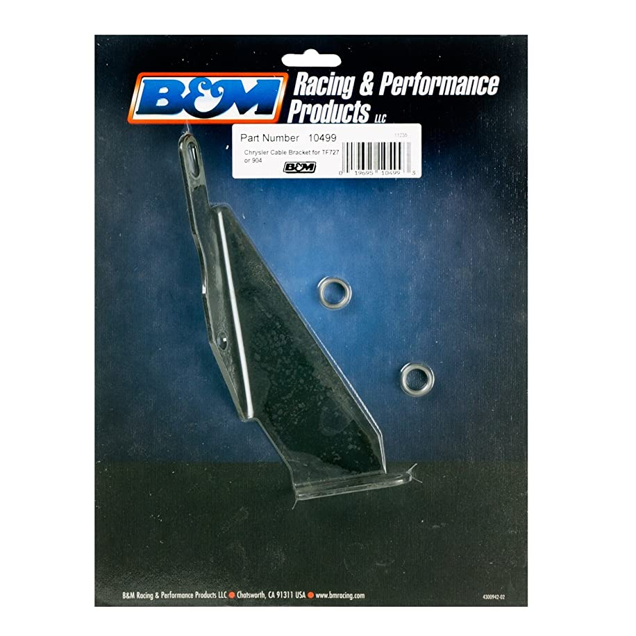 B&M 10499 Cable Bracket for TF727/904 Transmission
