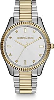 Michael Kors Women's Quartz Watch, Analog Display and Stainless Steel Strap MK3241