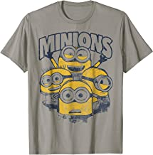 Despicable Me Minions Vintage Group Graphic T-Shirt