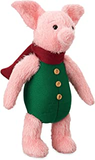 Disney Piglet Plush - Christopher Robin - Medium - 13 Inch