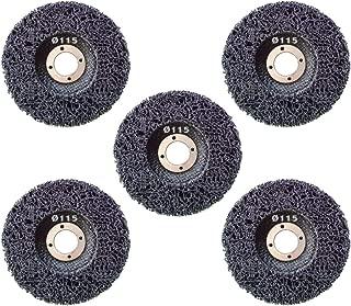 Nylongewebescheibe Schwarz 10 St/ück Reinigungsscheibe mit Schnellwechselsystem Grobreinigungsscheibe CSD /Ø 050mm CBS Clean Strip Disc Standard Black