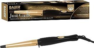 Bauer Professional Just Curls Tourmaline Ceramic Hair Curling Wand 38870