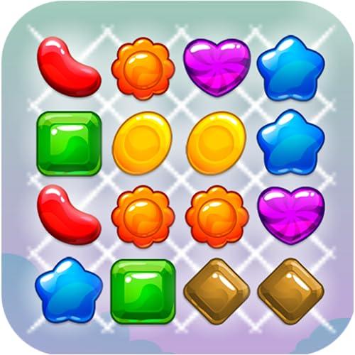 Magische Süßigkeiten - Passend 3 Puzzle
