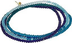 SHASHI Crystal 5 Wrap Convertible Bracelet