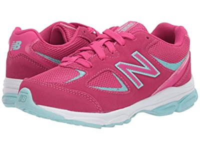 New Balance Kids PK888v2 (Little Kid) (Exhuberant Pink/Bali Blue) Girls Shoes
