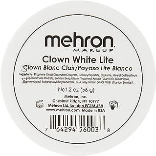 Mehron Makeup Clown White Lite Professional Makeup (2 oz)