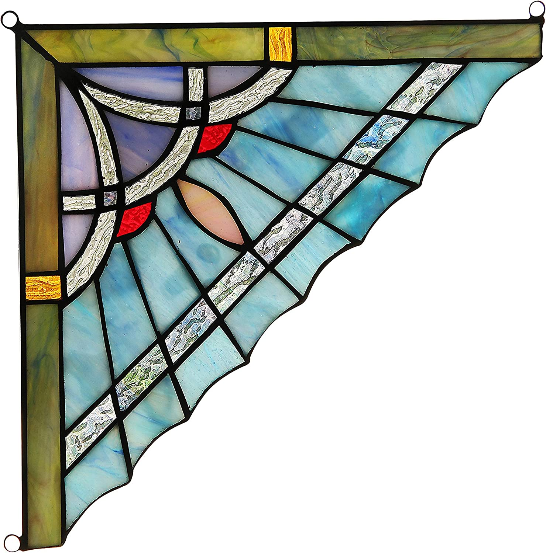 Max 74% OFF RADIANCE goods Mission Tiffany-Glass Panel Wide Atlanta Mall 10