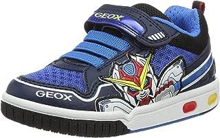 GEOX Boys' Jr Gregg a Low-Top Sneakers