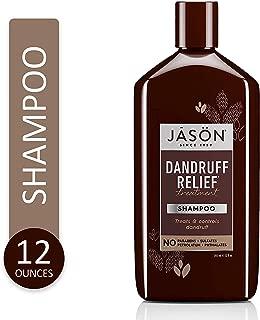 شامبو لقشرة الرأس والتهابات الفروة والصدفية Jason Natural Treatment Shampoo Dandruff Relief 355 ml
