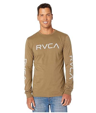 RVCA Big RVCA Long Sleeve (Cadet Green) Men