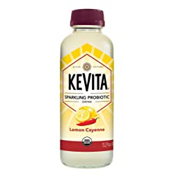 KeVita Sparkling Probiotic Drink, Lemon Cayenne, 15.2 oz.