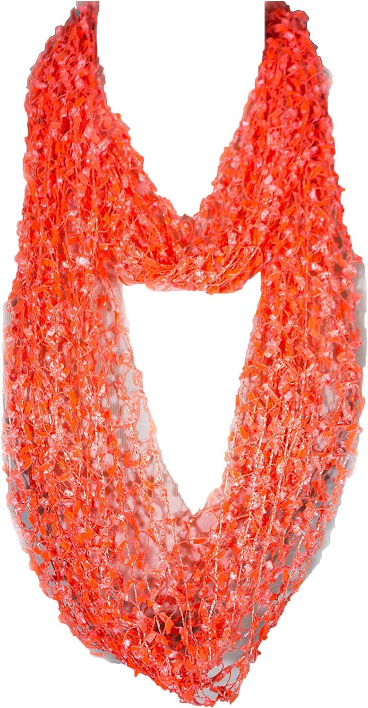 Confetti Net Lace Scarf, summer scarf, lace scarf, skinny scarf, shawl