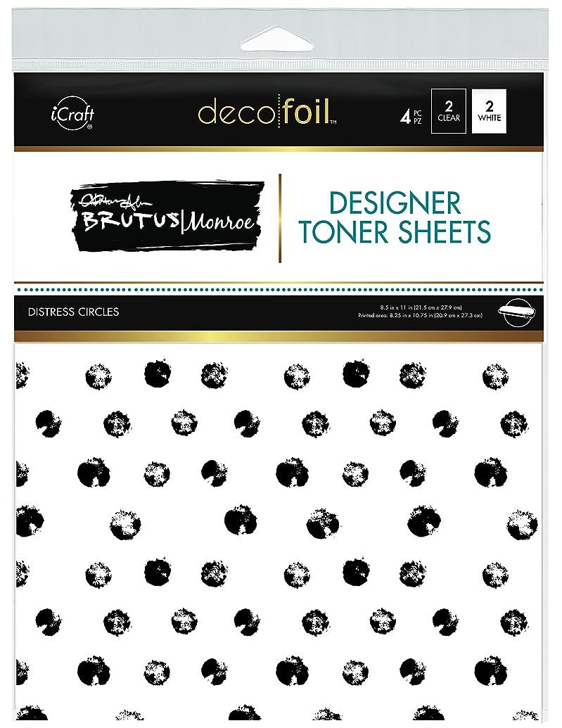 iCraft Deco Foil Designer Toner Sheets by Brutus Monroe 8.5