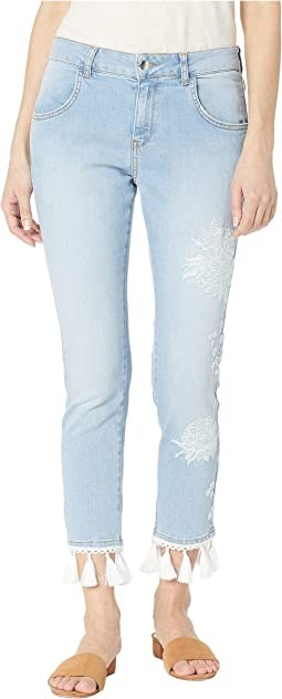 3b8eb891264358 Hue high waist denim stirrup leggings | Shipped Free at Zappos