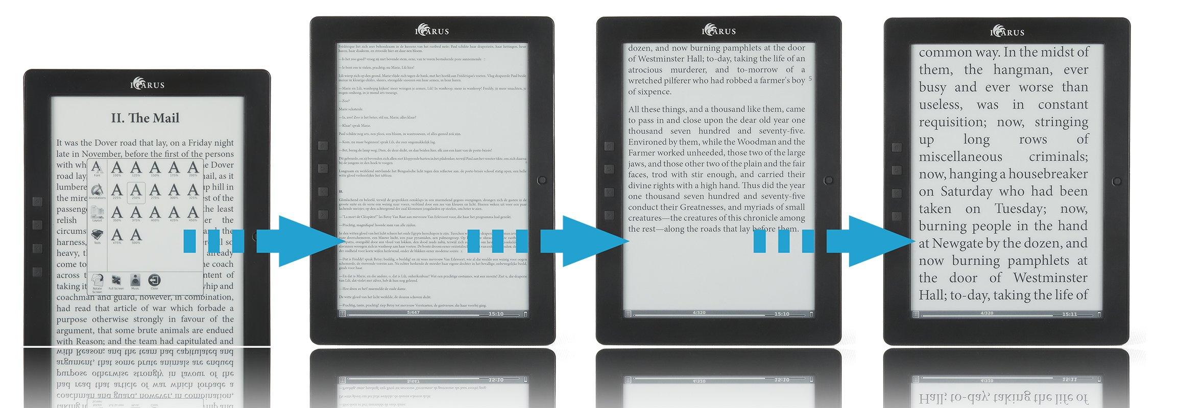 ICARUS - Lector de libros electrónicos eXceL 9.7