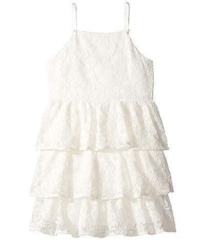 Bardot Junior Cartia Tier Dress (Big Kids) (Ivory) Girl