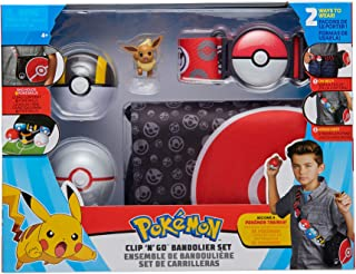 Pokémon Clip n Go Bandolier Set, Red, PKW0107