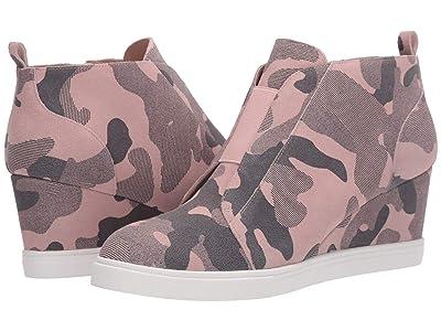 LINEA Paolo Felicia Wedge Sneaker (Blush Pink) Women