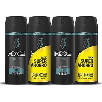 Axe Desodorante Apollo Pack Duplo Ahorro - 2 Paquetes de 2 x 150 ...