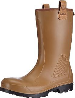 Dunlop Protective Footwear (DUNZJ) Dunlop Purofort Rig-air Full Safety, Bottes & Bottines de sécurité Mixte UK