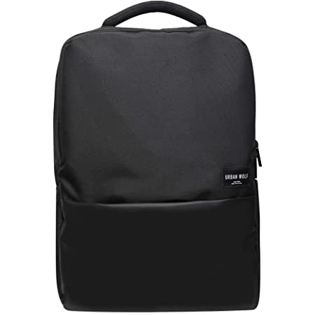 Urban Wolf Business Casual 30L Dual Compartment Water Resistant Laptop Backpack (Black).