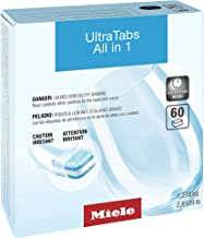 Miele 10245660 Dishwasher Tabs-20 per box 3X20, 60 Tabs, White, Count