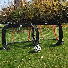 Kidseden - Portería de fútbol plegable para niños de 1,22