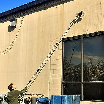 5-12 Foot DocaPole Light Bulb Changer Pole   High Ceiling Light Bulb Changer Extension Pole   Extendable Light Bulb C...