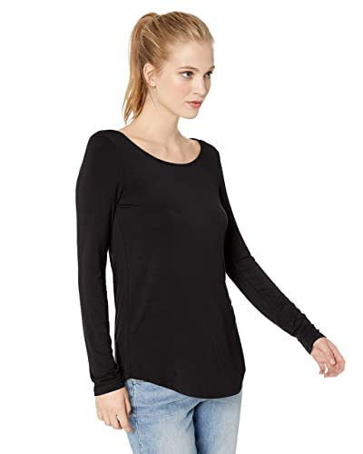 82a891e48f3e Black Long Sleeve Tops  Amazon.com