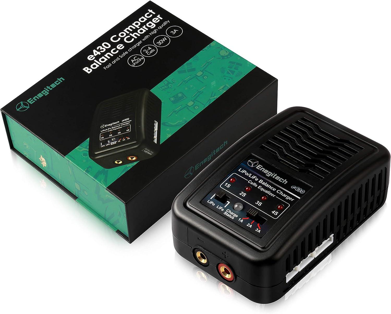 Enegitech RC Battery Charger for 7.4V 14.8V 3S 11.1V LiPo Sale 2S Challenge the lowest price of Japan ☆ 4S