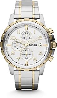 Fossil Analog White Dial Men's Watch - FS4795