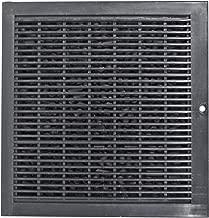 Spares2go - Filtro de ventilación para extractor cuadrado tipo CARBFILT8 para campana extractora B&Q/CATA/Cooke y Lewis/Designair