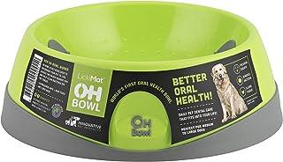 Oh Bowl Fresh-Breath Dog Bowl, Green, Medium (10120)